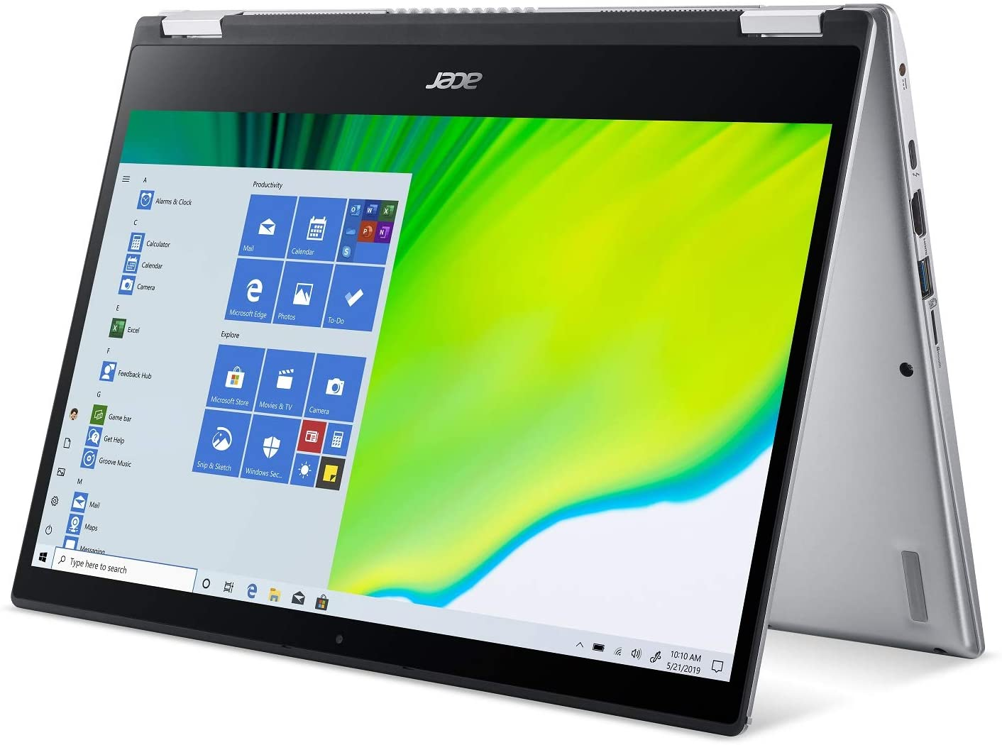 """Acer Spin 3 - 14"""" Laptop Intel Core i5-1035G1 1GHz 8GB Ram 256GB SSD Win 10 Home 841631174971   eBay"""